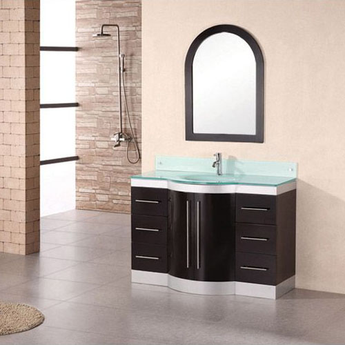 Design Element Jade 48 Inch Single Sink Vanity Set