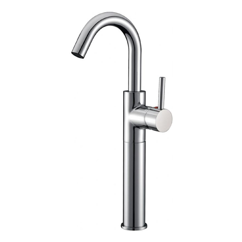 Single Handle High-Rised Lavatory Faucet