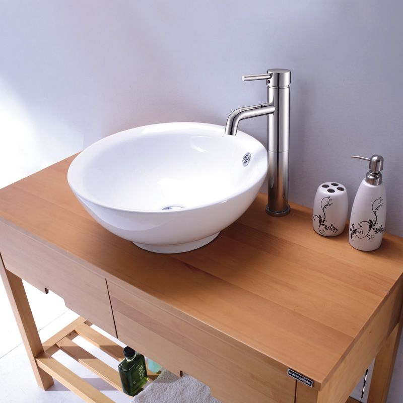 High-Raised Single Lever Lavatory Faucet