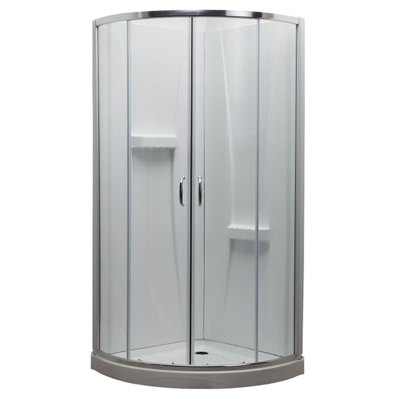 Round Shower Door (Central Opening)