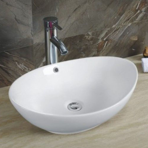 Oval Porcelain Sink