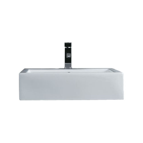 Square Porcelain Vessel Sink