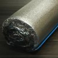 Blue underlayment with Aluminum