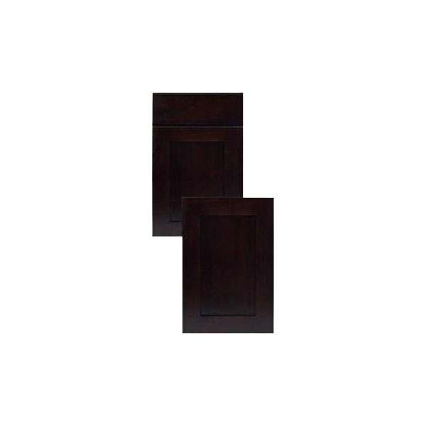 Coffee Expresso Shaker Panel Kitchen Cabinets