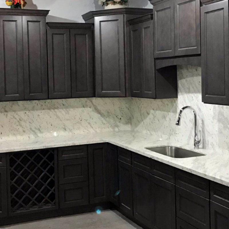 Kitchen Cabinet Stone Gray Transitional Style Apex Kitchen Cabinets