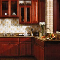 Cherry Rasied Panel Solid Wood
