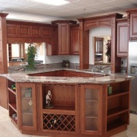 MapleMocha Kitchen Cabinet