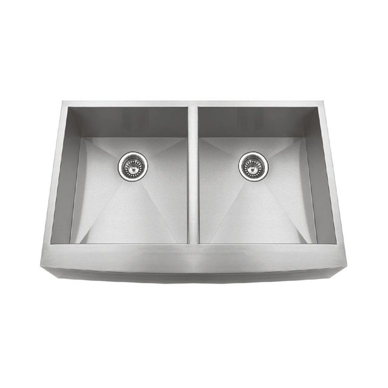 Hand Make Apron Double Bowl Sink