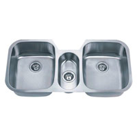 Triple Bowl Stainless Steel Kitchen Sink